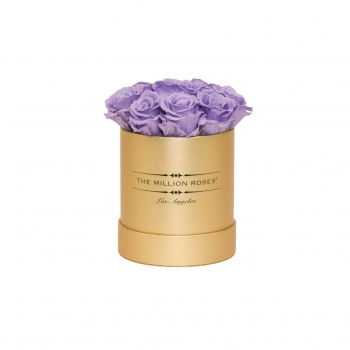 Lavendel Eternity Roses - Gold Box