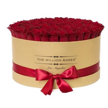 King Box Gold - Rote Rosen